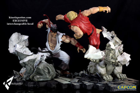 Battle of the Brothers - Ryu / リュウ - 1/6 scale diorama