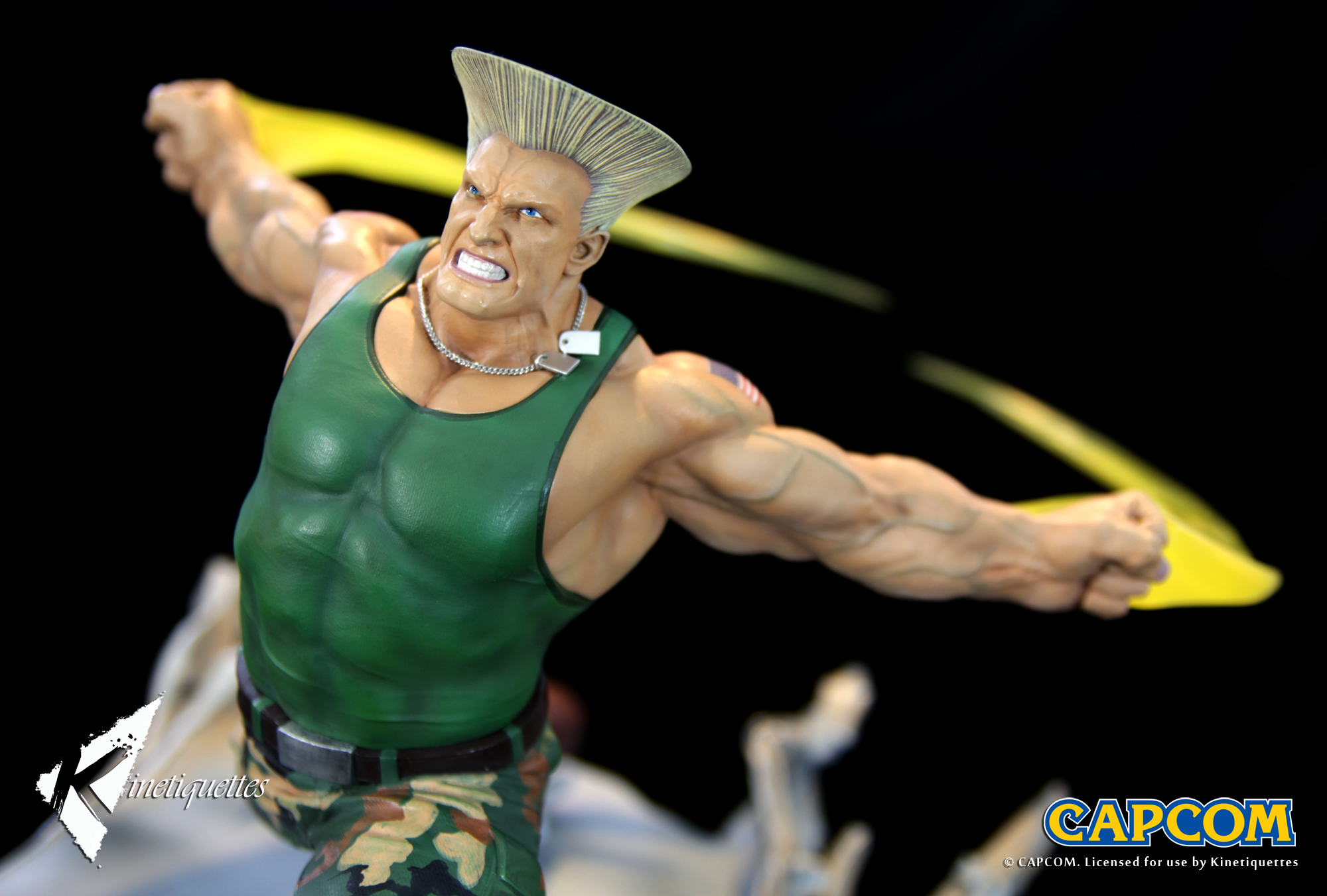 War Heroes Guile ガイル 16 Scale Diorama Kinetiquettes