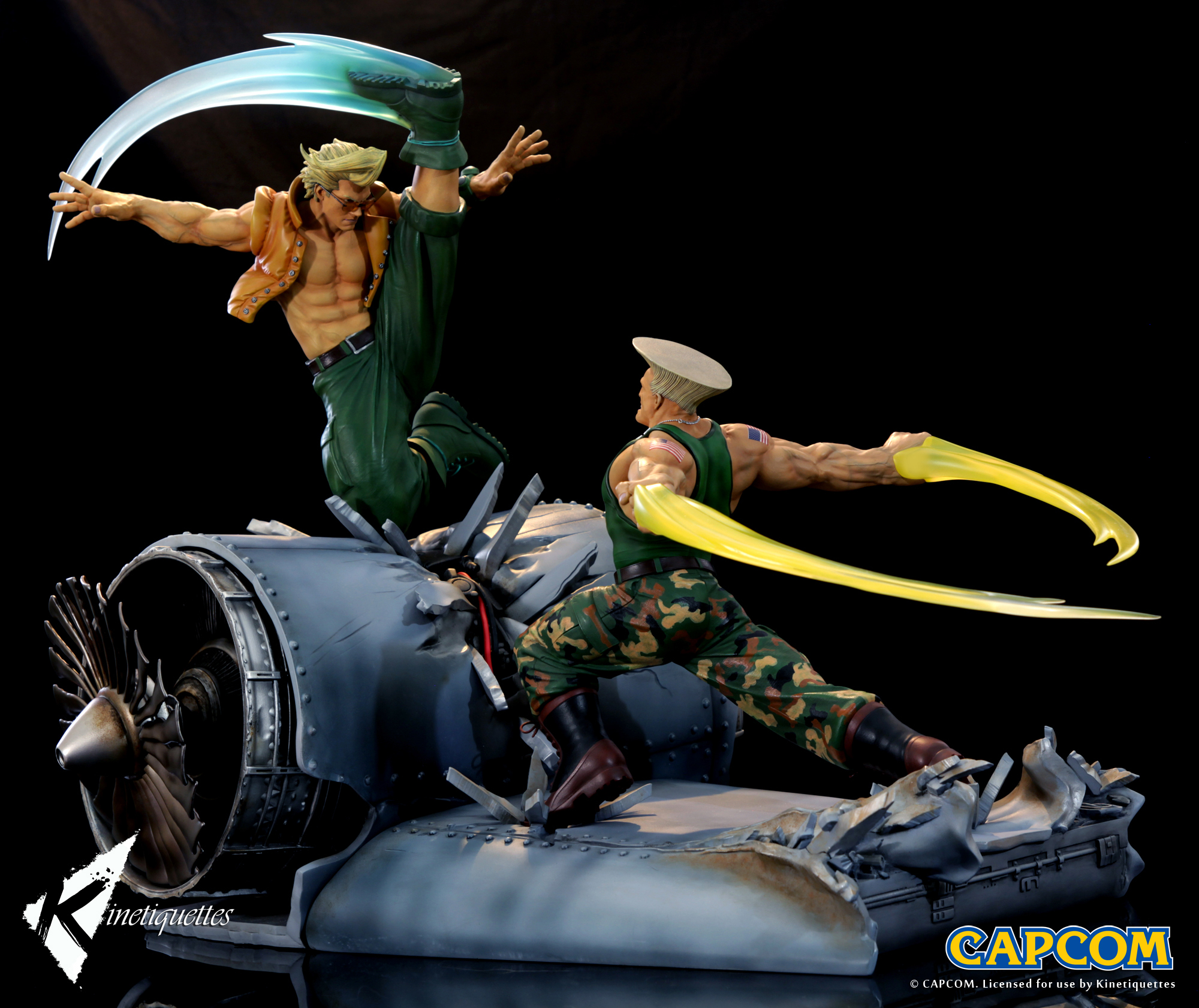 War Heroes Guile ガイル 1 6 Scale Diorama Kinetiquettes